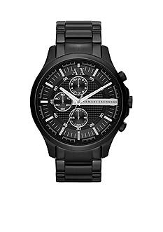 Armani Exchange AX Men's Black IP Stainless Steel Chronograph Watch