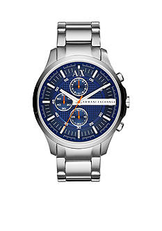 Armani Exchange AX Stainless Steel Chronograph Watch