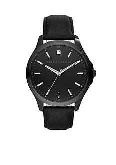 Armani Exchange AX Men's AX Smart Leather Watch