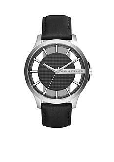 Armani Exchange AX Men's Leather Hand Watch