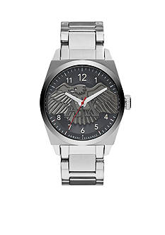 Armani Exchange AX Men's Stainless Steel Three Hand Watch