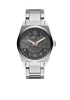 Armani Exchange AX Men's Stainless Steel Three Hand Watch