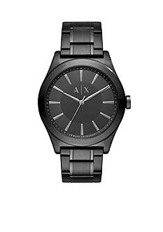 Armani Exchange AX Men's Three-Hand Black IP Stainless Steel Watch