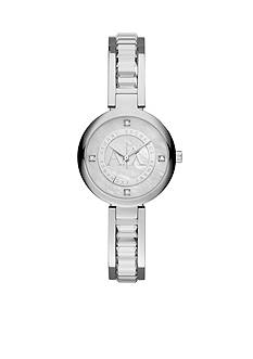 Armani Exchange AX Women's Street Stainless Steel Glitz Watch