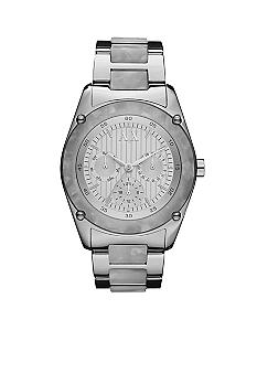 Armani Exchange AX Ladies Sport Stainless Steel and Marbled Acetate Watch
