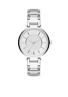 Armani Exchange AX Women's Olivia Three-Hand Stainless Steel Watch