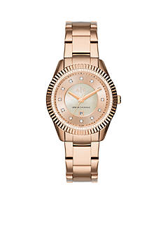 Armani Exchange AX Women's AX Active Rose Gold-Tone Watch