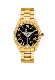 Betsey Johnson 'Martini Time' Watch