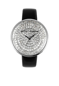 Betsey Johnson Pave Dial Watch