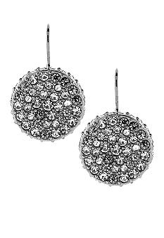 Vince Camuto Stone Items Light Rhodium Drop Earring