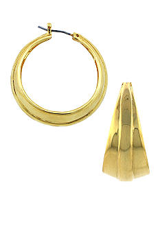 Vince Camuto Core Gold Small Hoop Earring