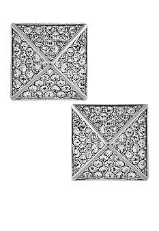 Vince Camuto Light Rhodium/Crystal Stud Earring