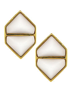 Vince Camuto Hidden Gems Clip Earrings