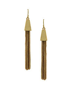 Vince Camuto Gold-Tone Tassel Earrings