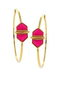 Vince Camuto Hidden Gems Hoop Earrings