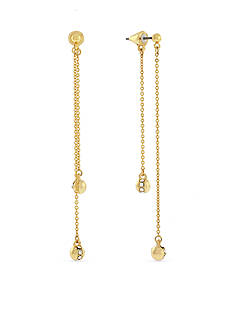 Vince Camuto Fine Drama Front to Back Circle Drop Earrings