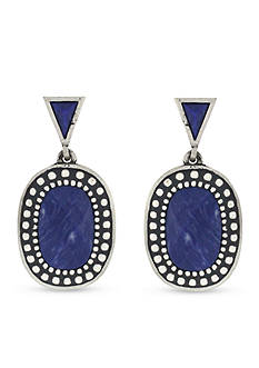 Vince Camuto Indigo Drop Earrings