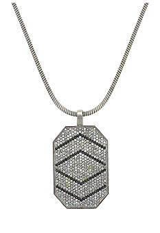 Vince Camuto Silver Holiday Necklace