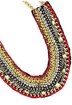 Vince Camuto Neutral Territory Bib Necklace