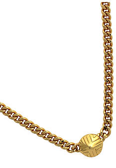 Vince Camuto Tribal Fusion Gold Necklace