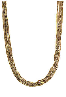 Vince Camuto Spring Basics Gold Multi-Strand Necklace
