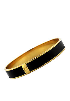 Vince Camuto Black and Gold Skinny Bangle