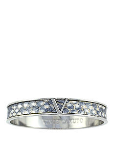 Vince Camuto Grey Exotic Shimmer V Bangle