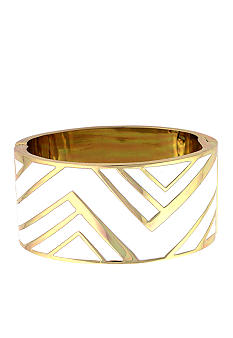 Vince Camuto Enamel Chevron Bangle
