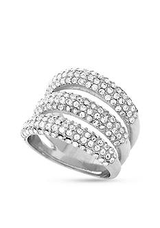 Vince Camuto Triple Bar Pave Ring