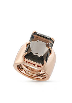 Vince Camuto Rose Gold-Tone Adjustable Bold Ring