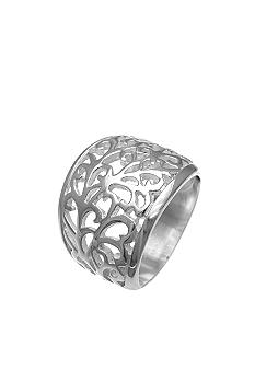 Belk Silverworks Graduated Filigree Band Ring