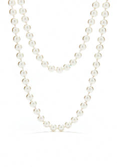 Red Camel Long Pearl Necklace