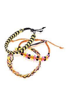 Red Camel Three Row Friendship Bracelet