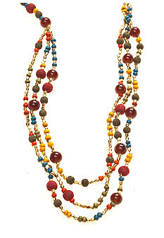 Red Camel Multi Color Long Necklace