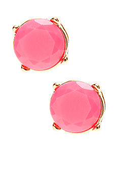 Red Camel Neon Pink Stud Earrings
