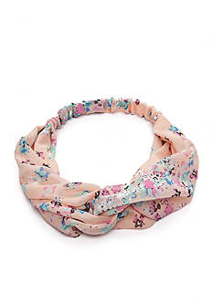 Red Camel Prep Up Pink Floral Hair Wrap