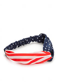 Red Camel Americana Hair Wrap