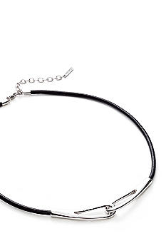 Nine West Leather Cord Necklace