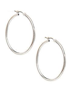Nine West Classic Large Hoop Earring
