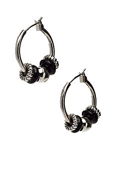 Nine West Tube Hoop Earring