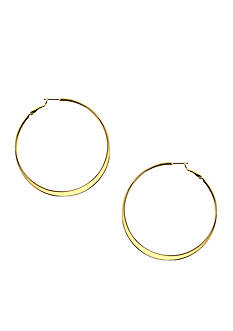 Nine West Pierced Hoop Earrings