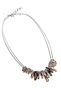 Nine West Tri-Color Necklace