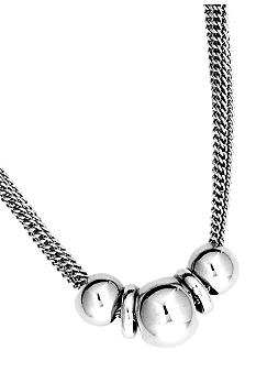 Nine West Chain Reaction Frontal Slider Necklace