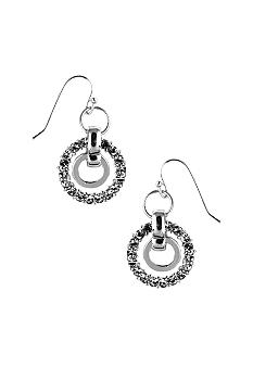 Nine West Pierced Orbital Drop Earrings