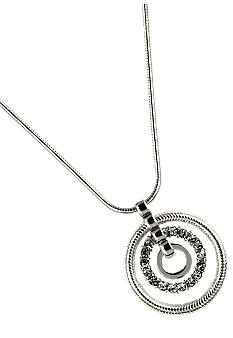 Nine West Orbital Pendant Necklace