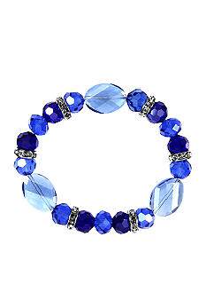 Nine West Beaded Stretch Bracelet