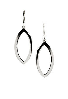 Nine West Pierced Drop Leverback Earrings