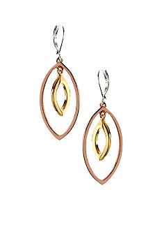 Nine West Pierced Orbital Hoop Earrings
