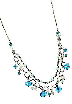 Nine West Multi Row Shore Thing Necklace