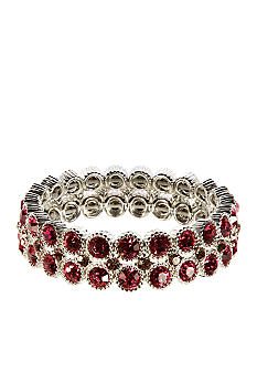 Nine West Three Row Stretch Bracelet